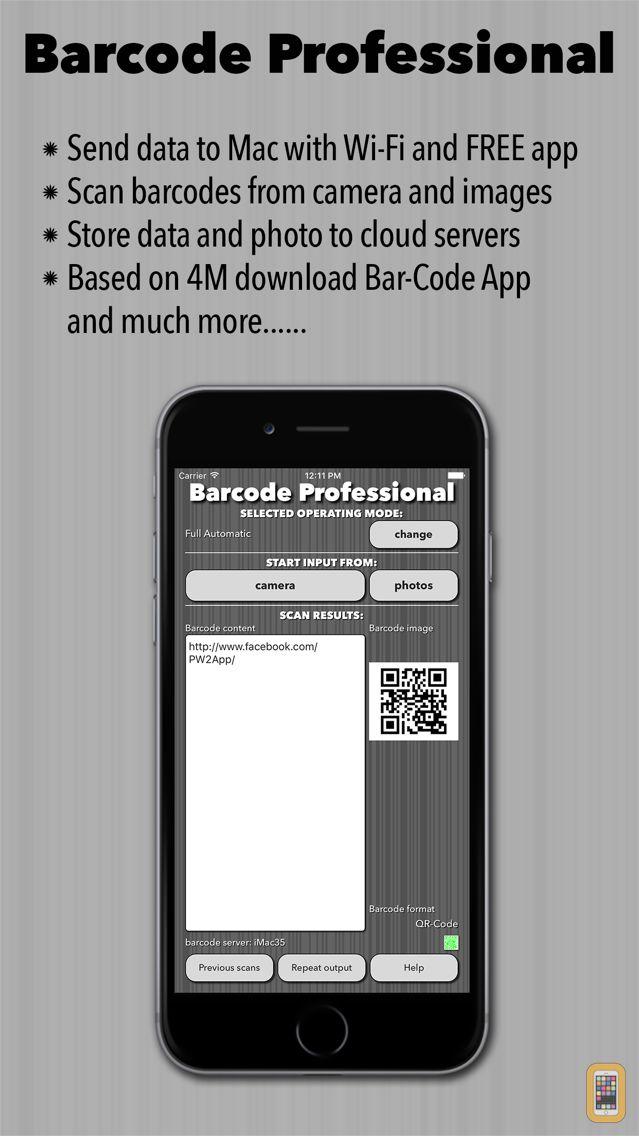 Screenshot - Barcode Professional