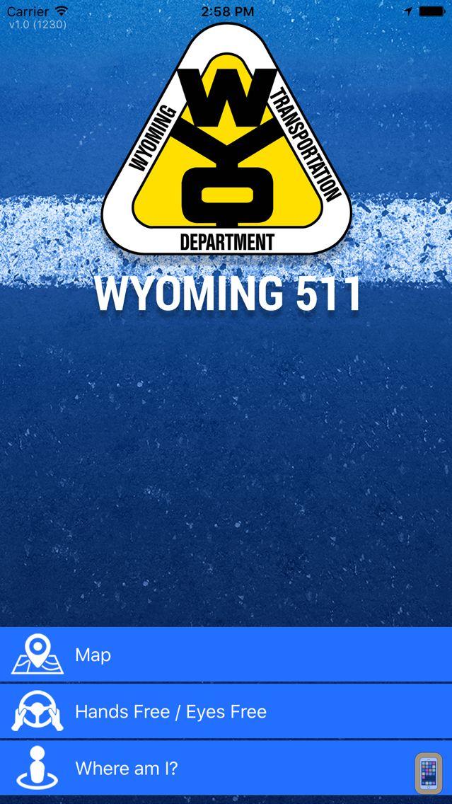 Screenshot - Wyoming 511