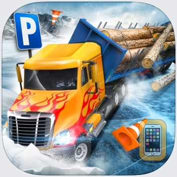 Ice Road Trucker Parking Simulator 2 a Real Monster Truck Car Park Racing Game by Play With Games Ltd (Universal)