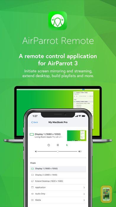 Screenshot - AirParrot Remote