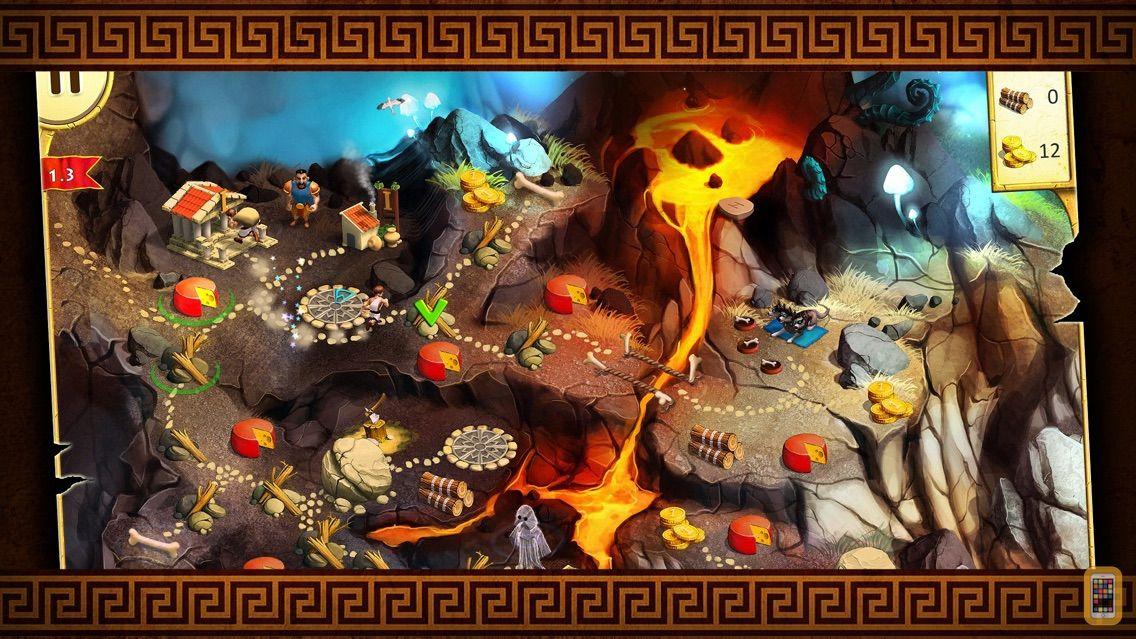 Screenshot - 12 Labours of Hercules II: The Cretan Bull - A Strategy Hero Quest Game