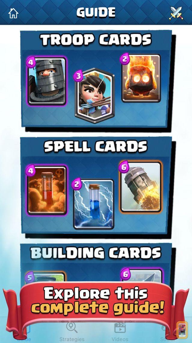 Screenshot - Best Guide for Clash Royale - Deck Builder & Tips