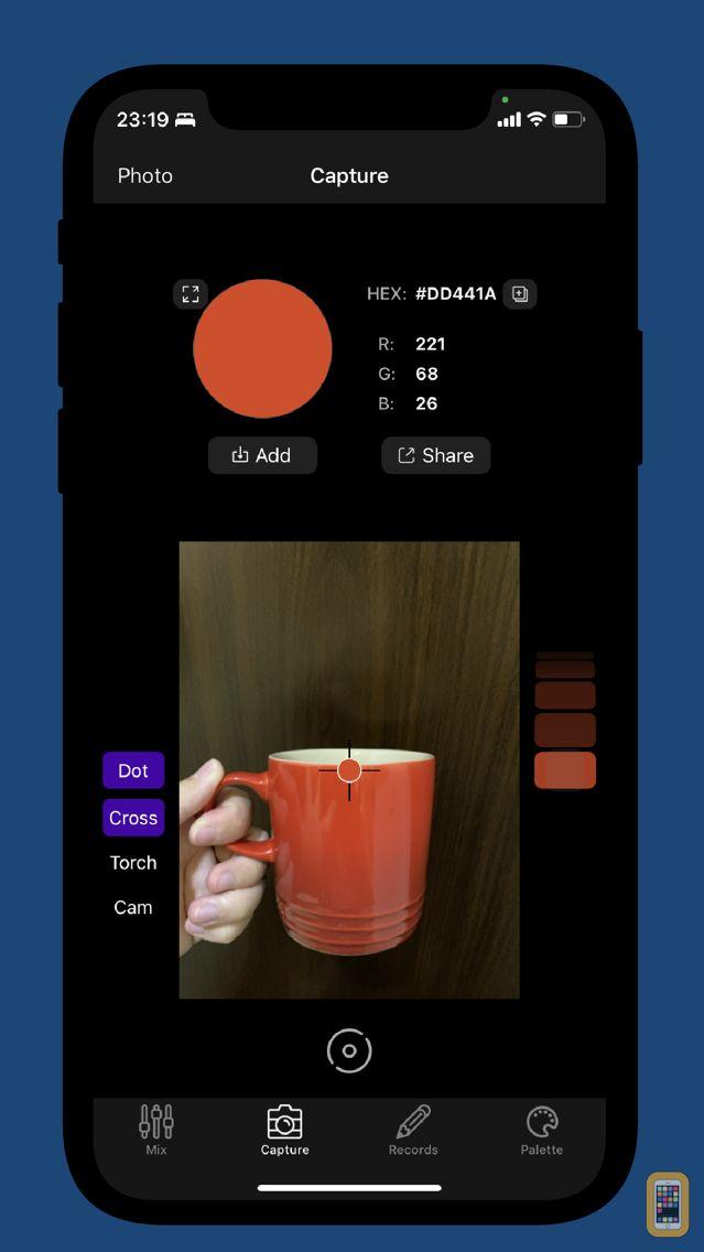 Screenshot - Lanse - Capture&Save Color