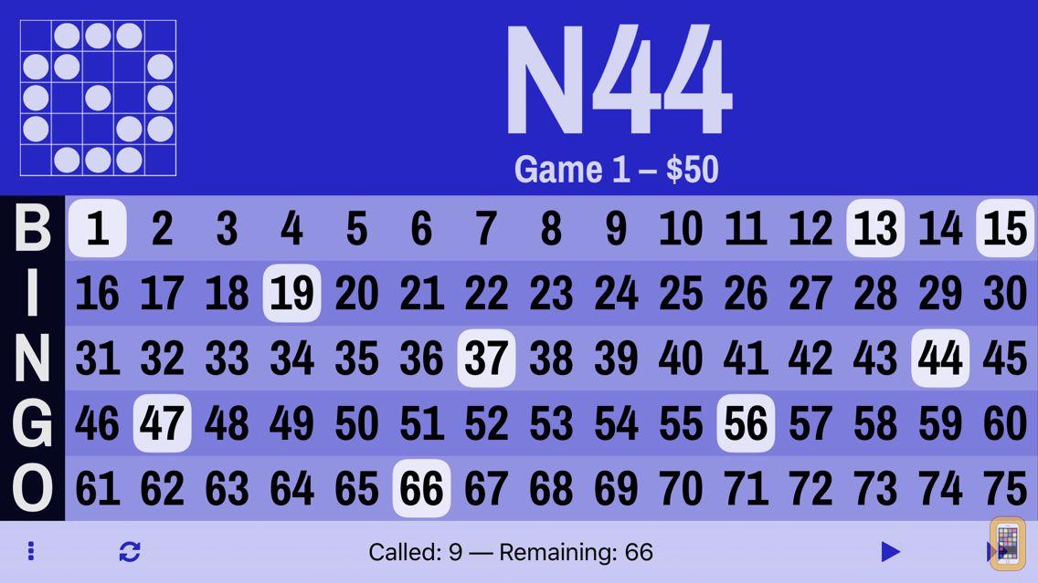 Screenshot - Bingo Board Digital Flashboard