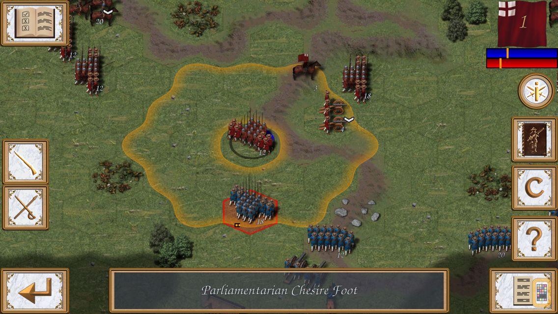 Screenshot - Fire and Fury: English Civil War
