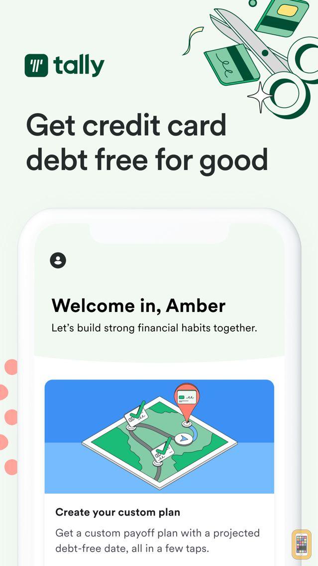 Screenshot - Tally: Pay Off Debt Faster
