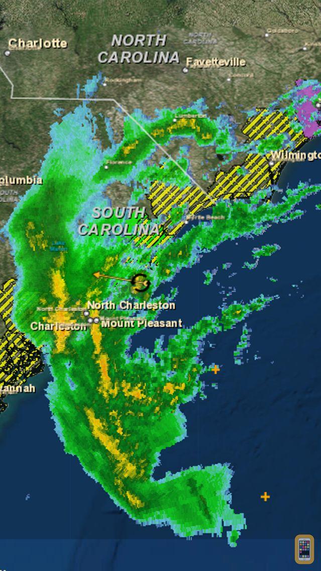 Screenshot - Hurricane Tracker Pro