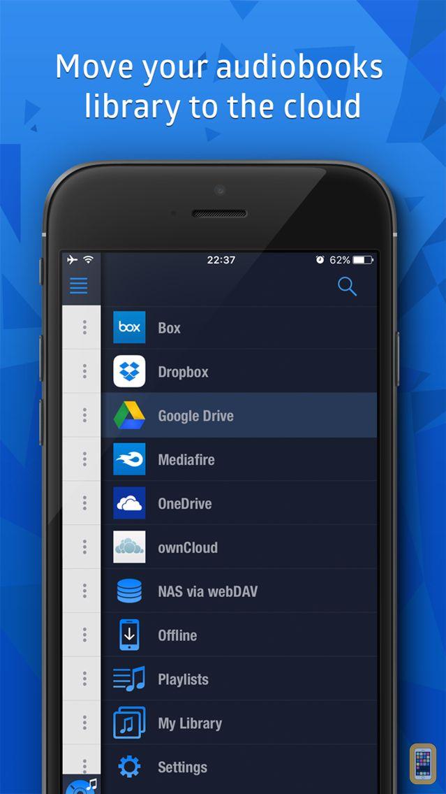 Screenshot - Cloudbeats audiobooks offline