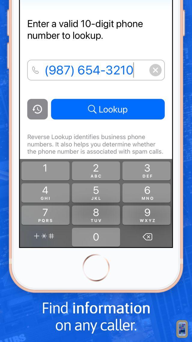 Screenshot - Reverse Lookup