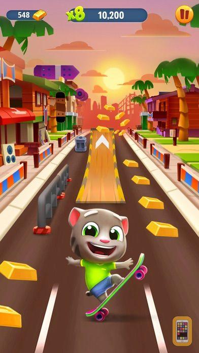 Screenshot - Talking Tom Gold Run