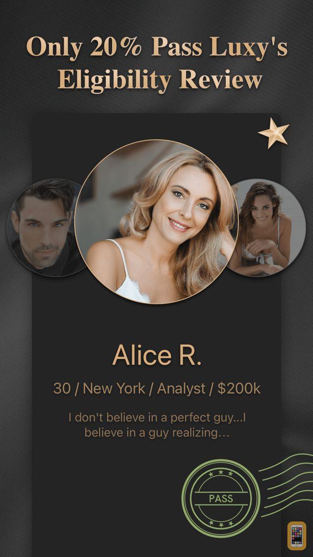 Screenshot - Luxy Pro #1 Elite Dating