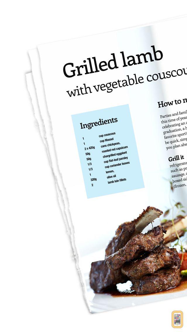 Screenshot - Recipe Binder - Your magazine recipes organized