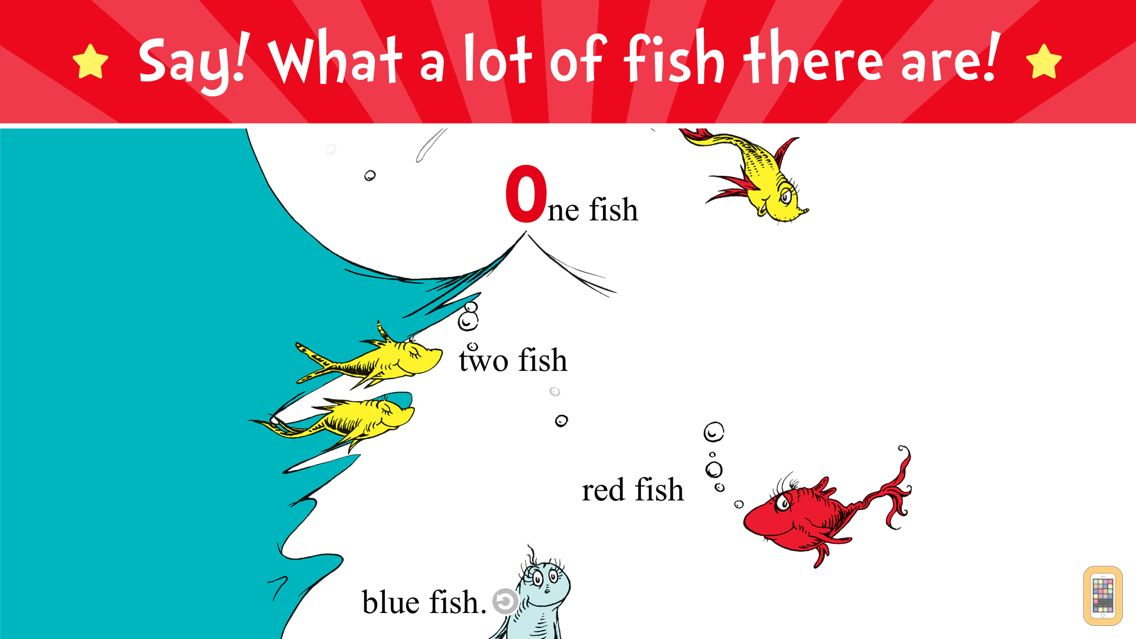 Screenshot - One Fish Two Fish - Dr. Seuss