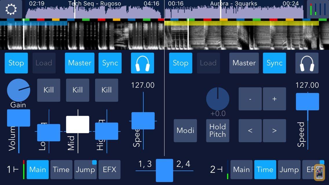 Screenshot - DJDJ Mixing App
