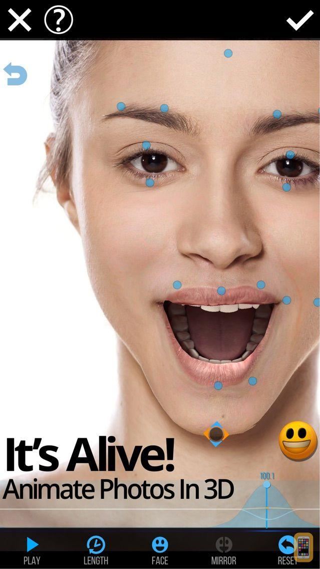 Screenshot - Mug Life - 3D Face Animator