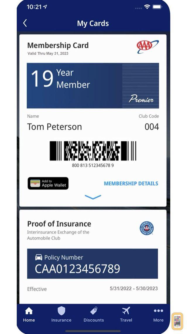 Screenshot - Auto Club App