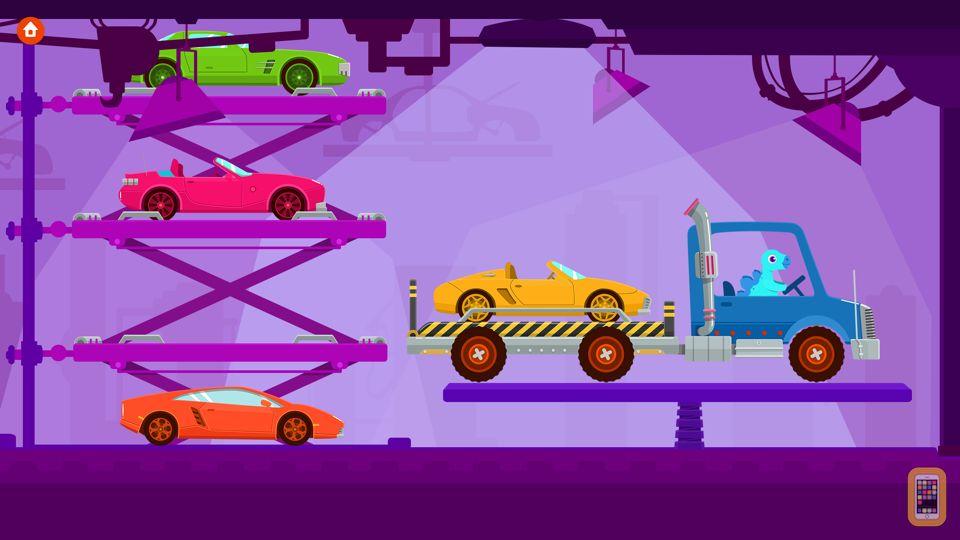 Screenshot - Dinosaur Truck - Driving Simulator Games For Kids