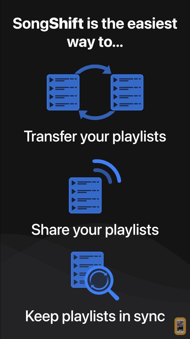 Screenshot - SongShift