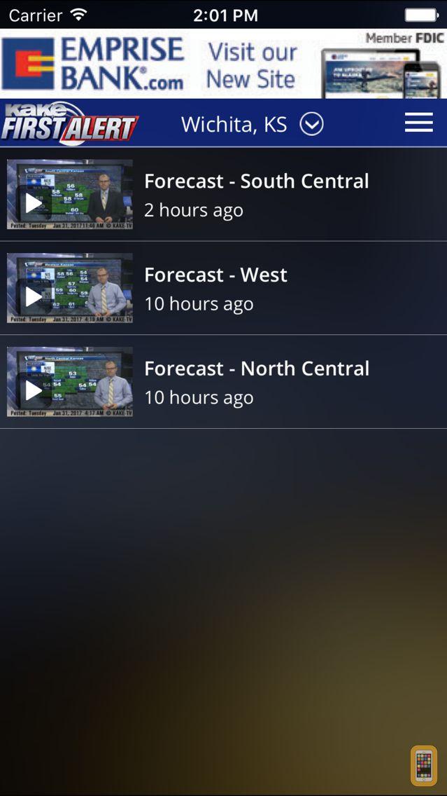Screenshot - KAKE First Alert Weather