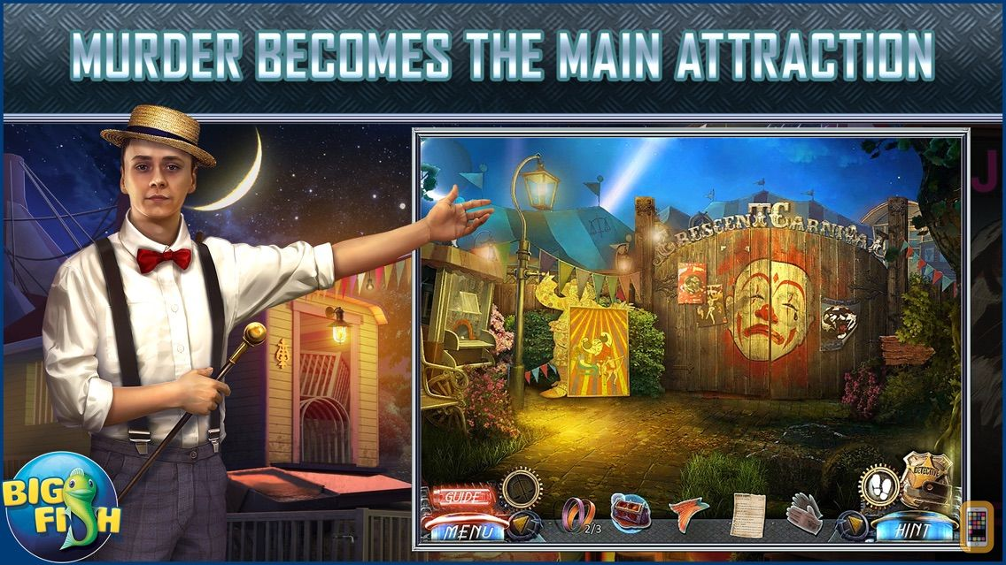 Screenshot - Dead Reckoning: The Crescent Case - A Mystery Hidden Object Game (Full)