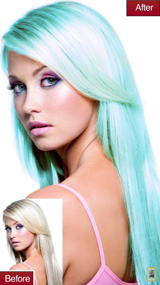 Screenshot - Hair Color Lab Change or Dye