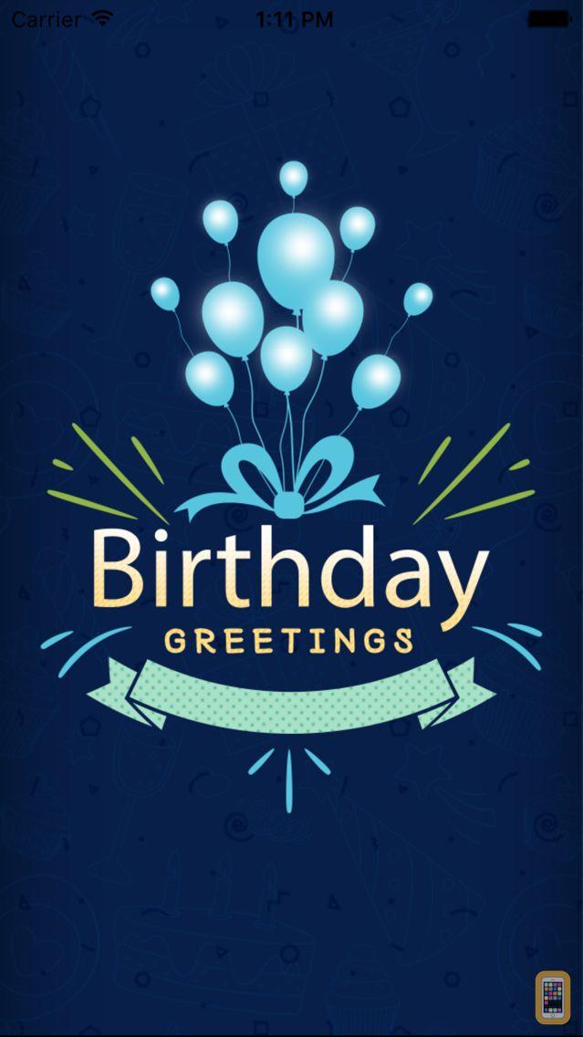 Screenshot - Happy Birthday Greetings, Wishes, Emojis, Text2pic
