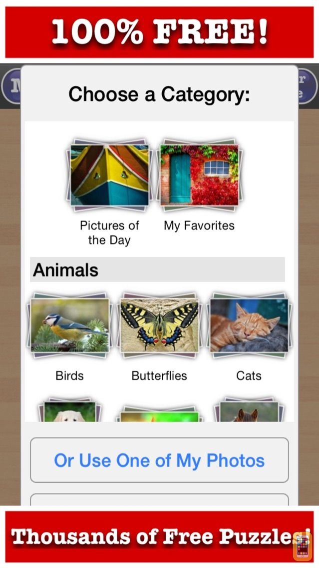 Screenshot - Totally Free Jigsaw Puzzles!