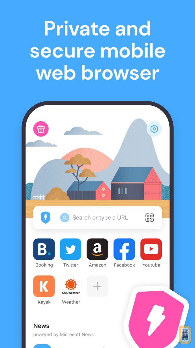 Screenshot - Aloha Browser: private VPN TOR