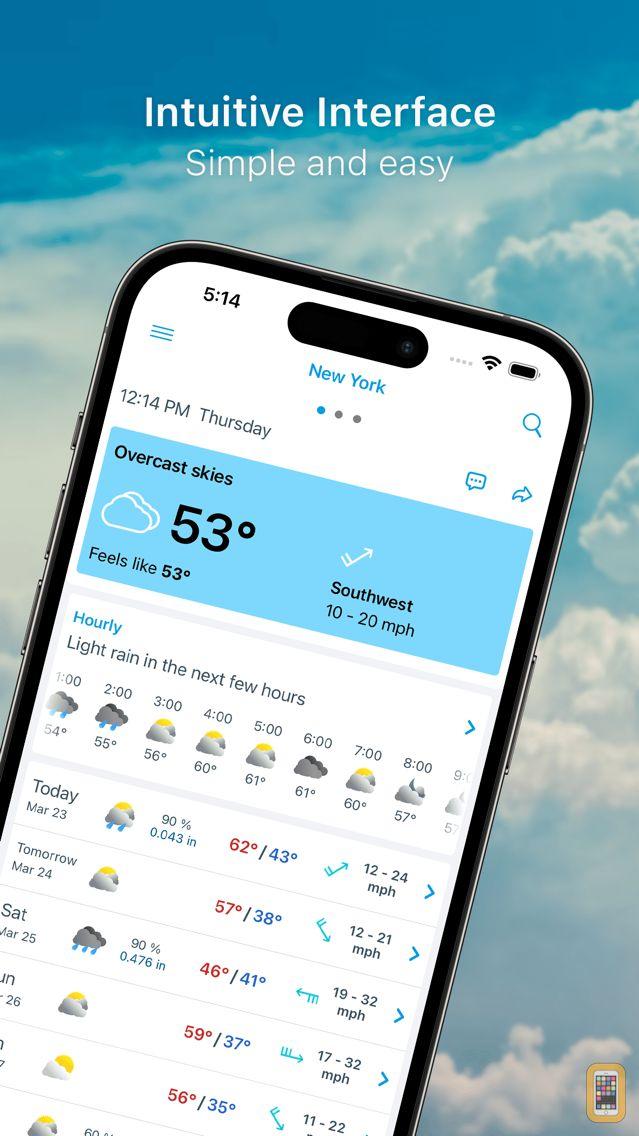 Screenshot - Weather 14 days Pro -Meteored