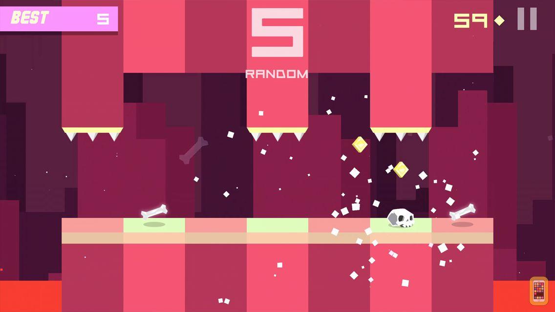 Screenshot - Bonecrusher: Free Awesome Endless Skull & Bone Game