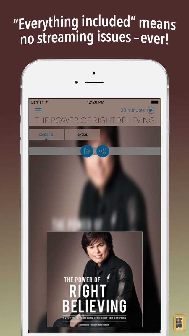 Screenshot - The Power of Right Believing (by Joseph Prince)