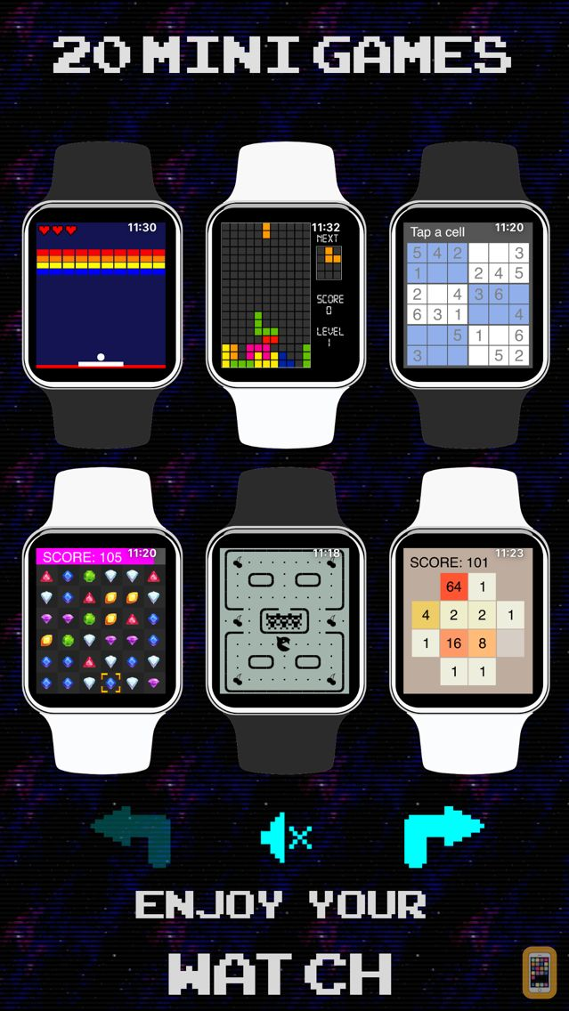 Screenshot - 17 Mini Games For Watch & Phone