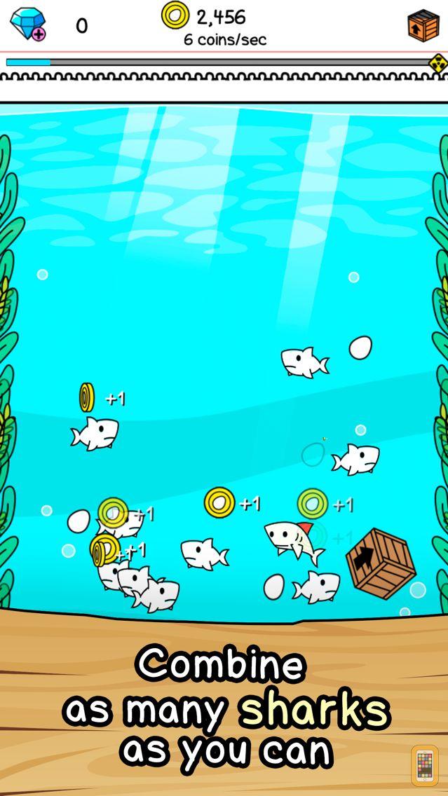 Screenshot - Shark Evolution | Clicker Game of the Deep Sea Mutants