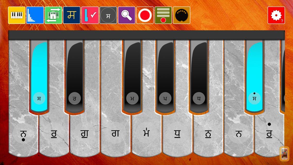 Screenshot - Harmonium Anywhere