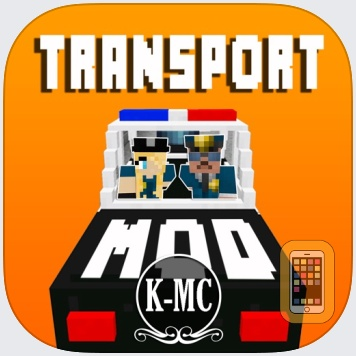 TRANSPORT MODS for MINECRAFT Pc EDITION by KISSAPP, S.L. (Universal)