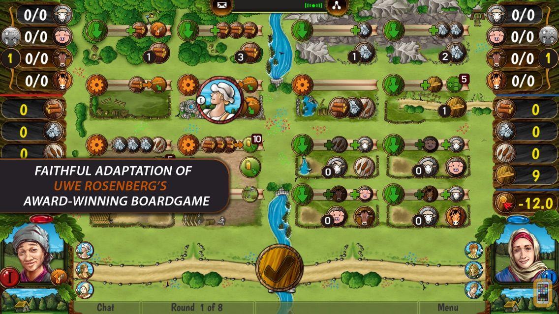 Screenshot - Agricola All Creatures 2p