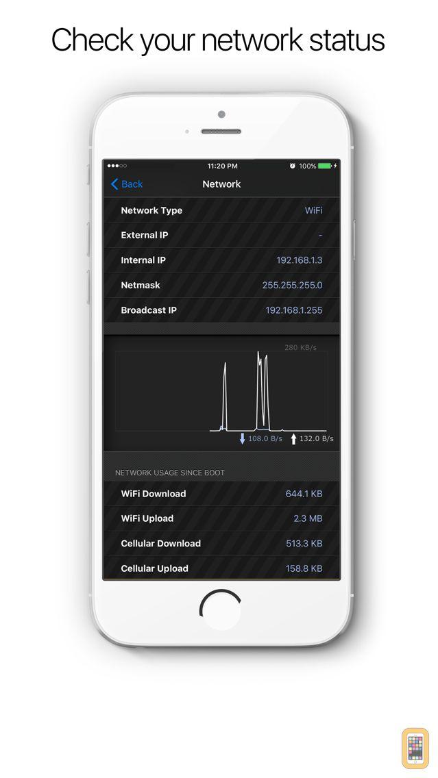 Screenshot - System & Network Info