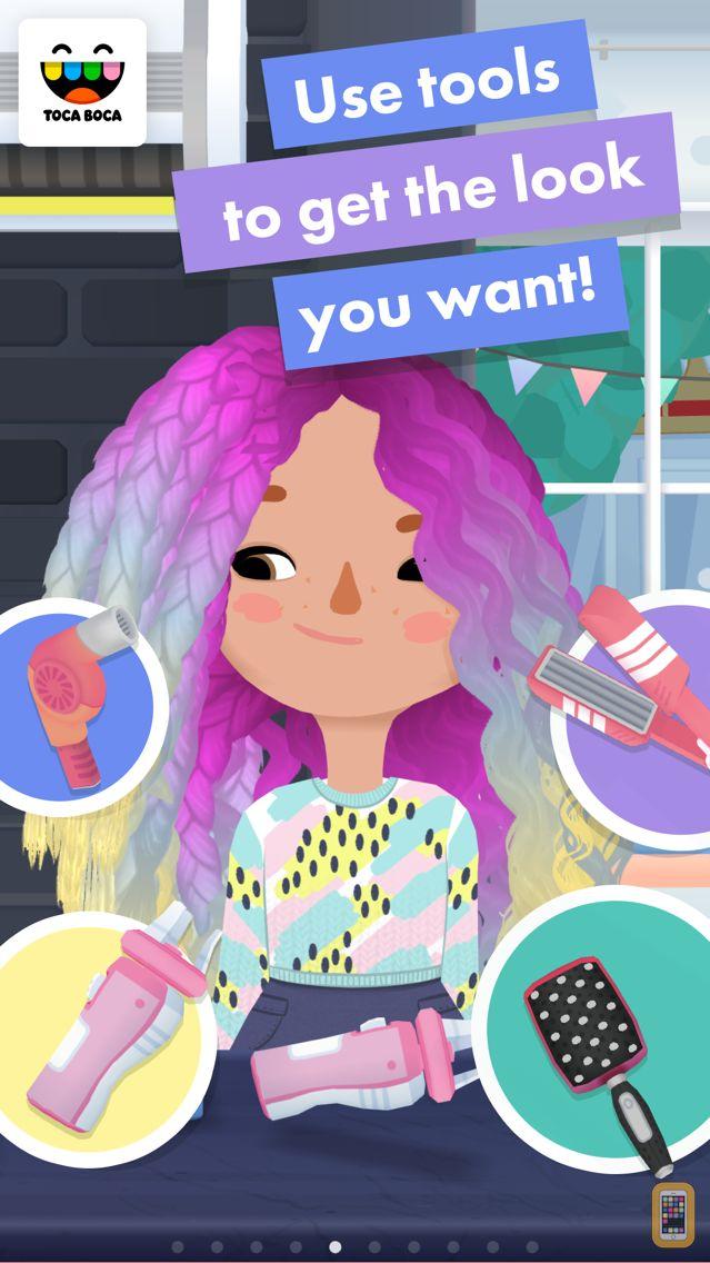 Screenshot - Toca Hair Salon 3