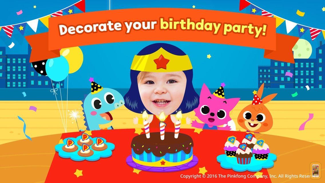 Screenshot - Pinkfong Birthday Party