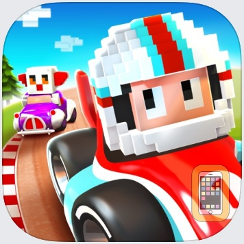 Blocky Racer - Endless Arcade Racing by Full Fat (Universal)
