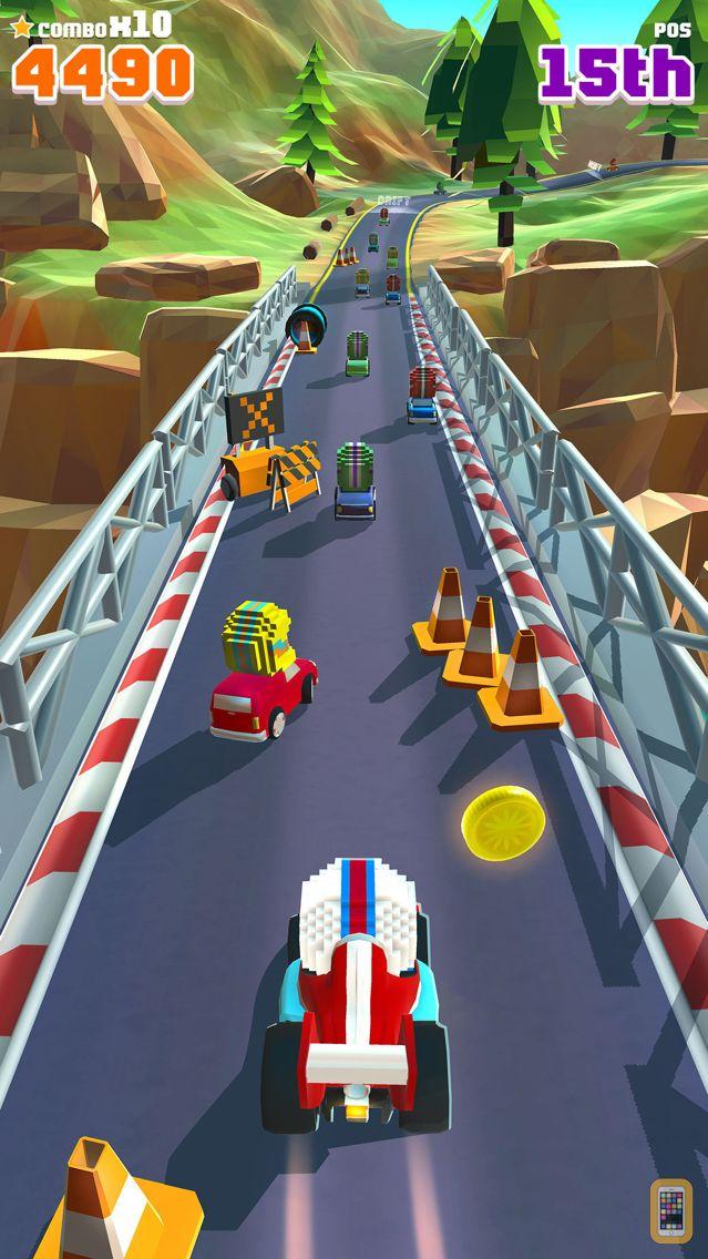Screenshot - Blocky Racer - Endless Arcade Racing