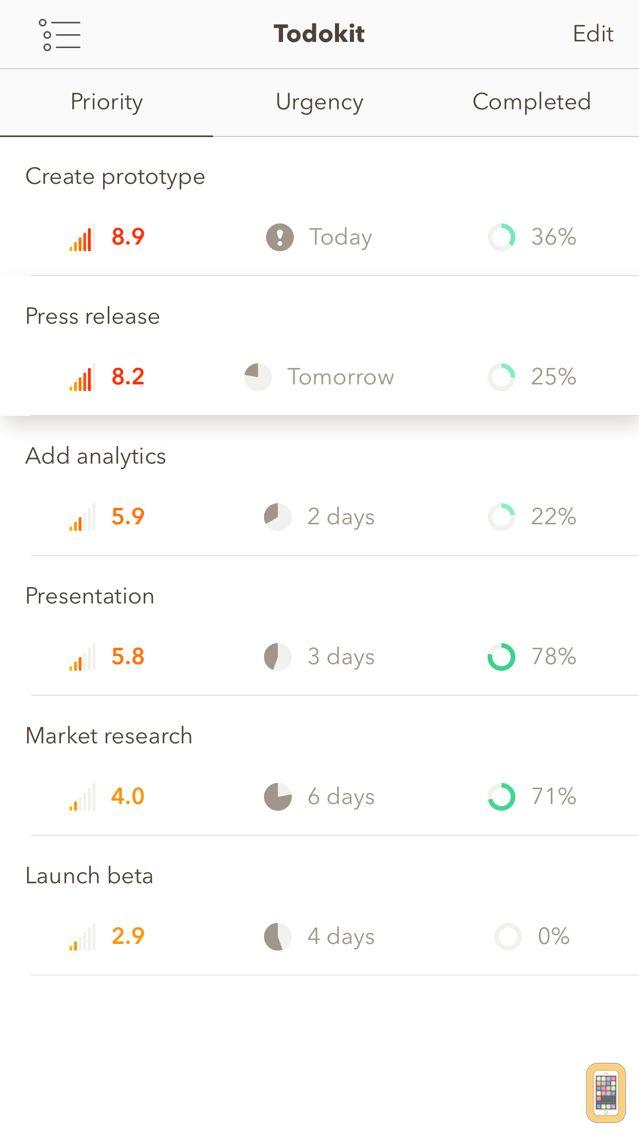 Screenshot - Todokit - Todo List, Task Manager, Daily Planner