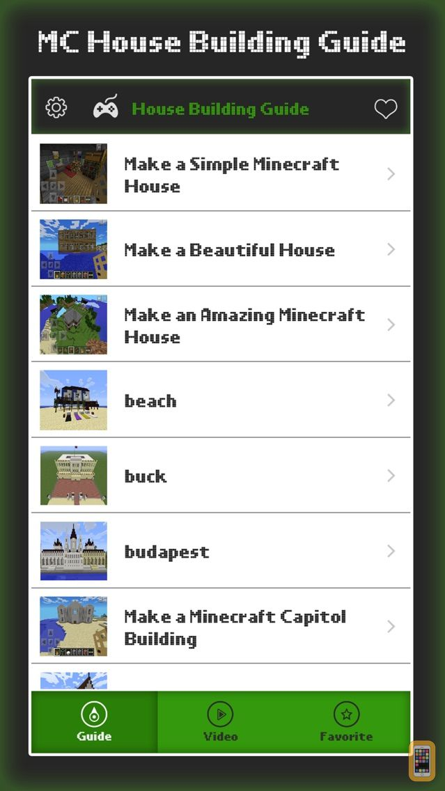 Screenshot - House Guide - Tips for Step by Step Build Your Home for MineCraft Pocket Edition Lite