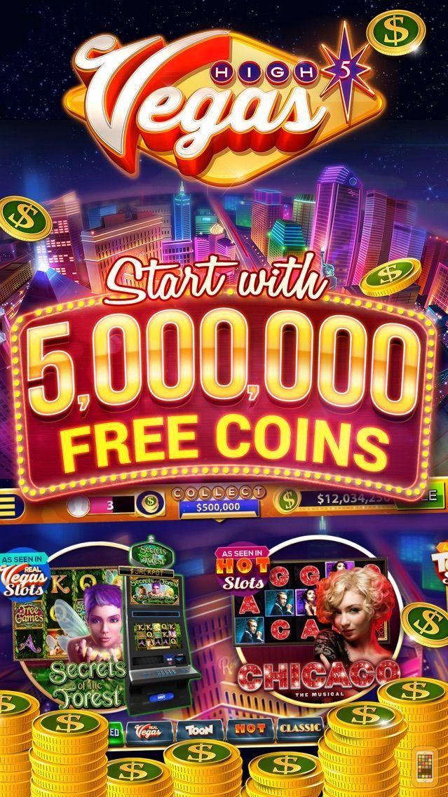 Screenshot - High 5 Vegas Free Slots Casino