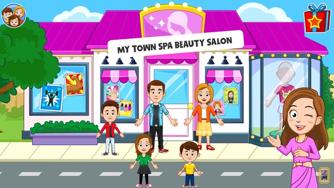 Screenshot - My Town : Beauty Spa Salon