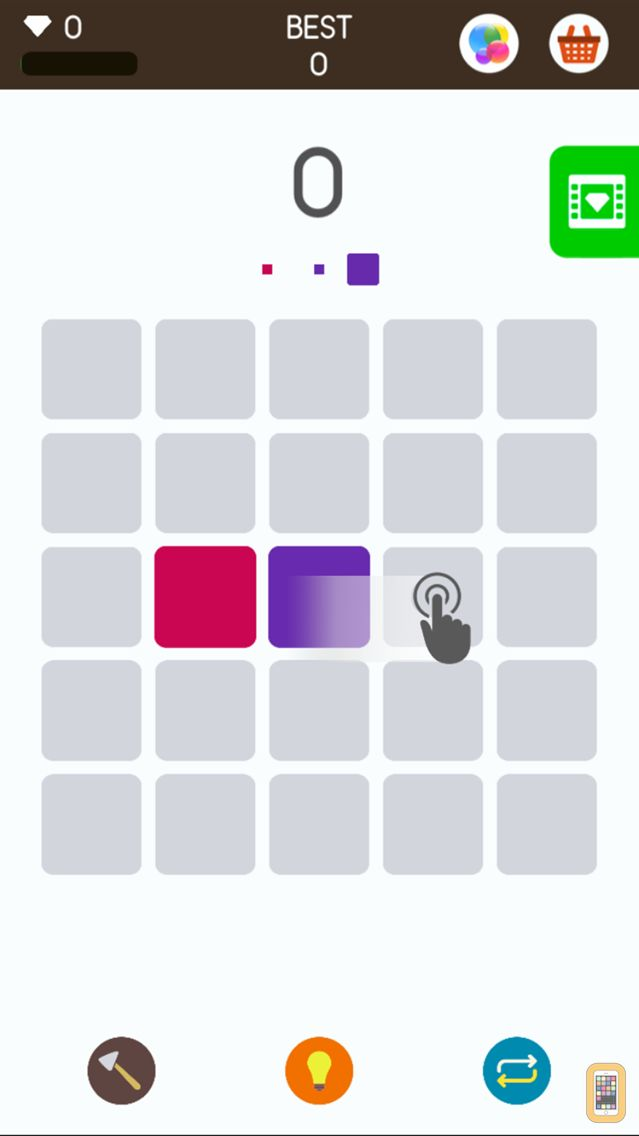 Screenshot - Squares: A Game about Matching Colors