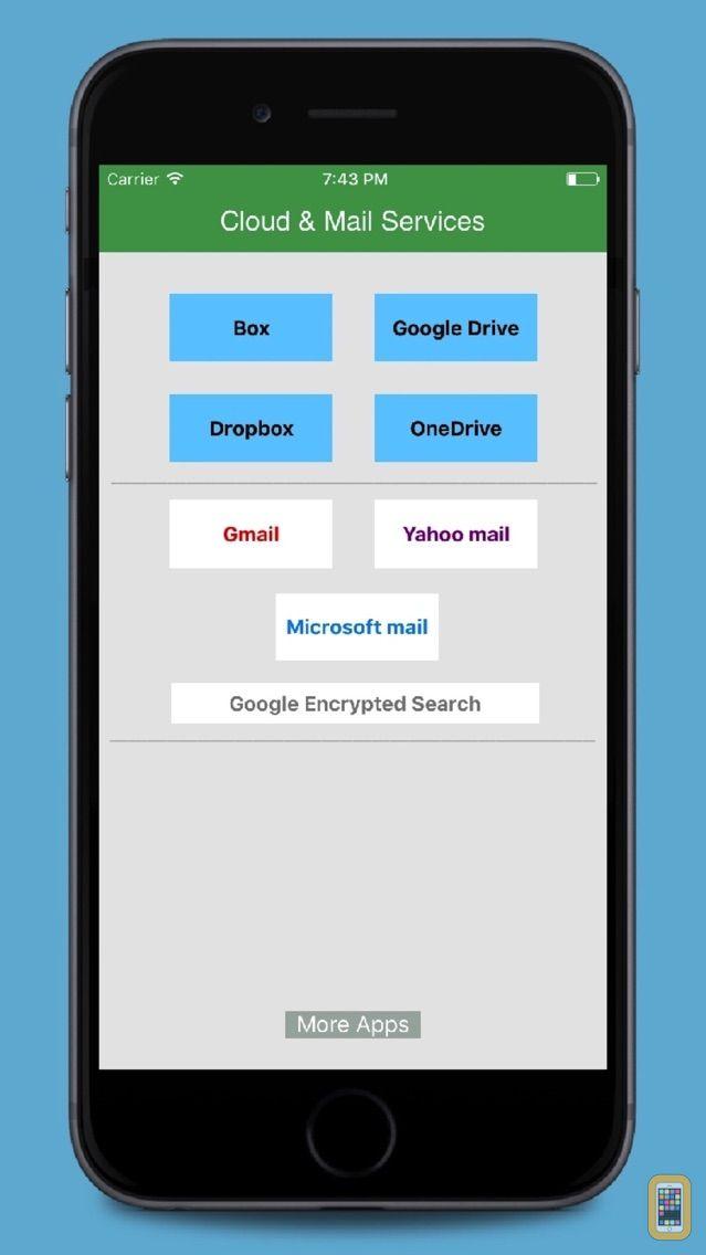 Screenshot - Cloud - Mail for GoogleDrive,Dropbox,Box,Onedrive