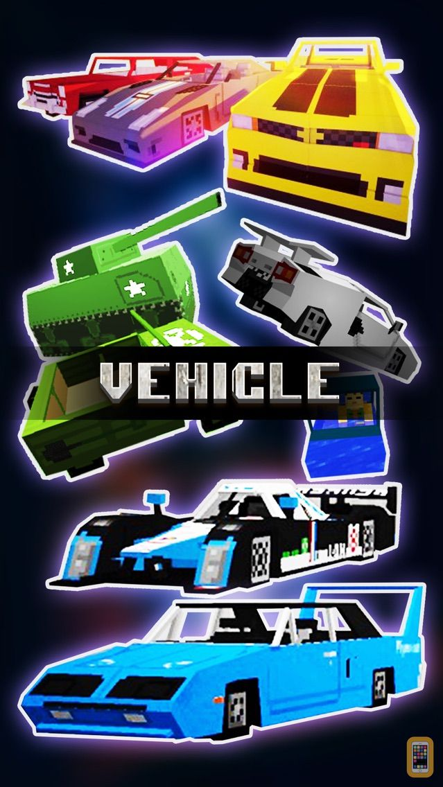 Screenshot - Vehicle & Weapon Mods FREE - Best Pocket Wiki & Tools for Minecraft PC Edition