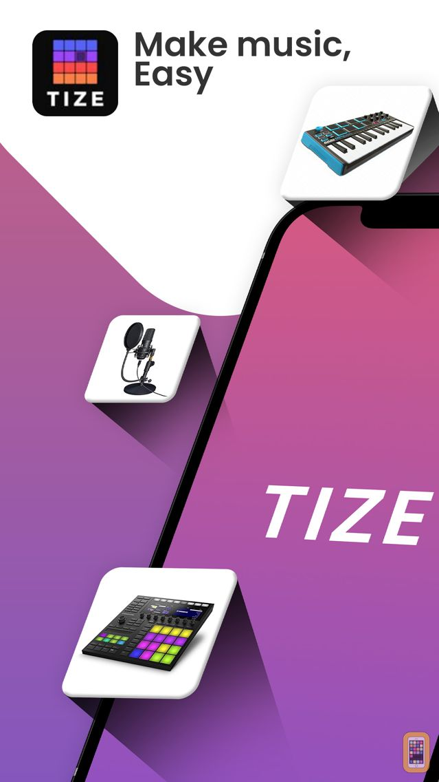 Screenshot - TIZE - Beat Maker, Music Maker