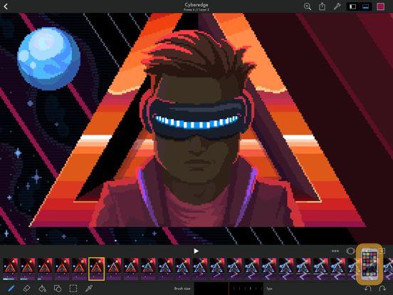 Screenshot - Pixaki 3: Pixel art editor